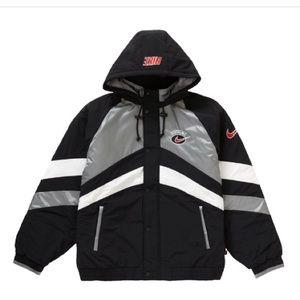 Supreme Nike hooded sport Jacket!